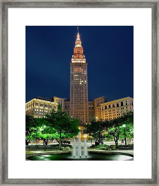 Terminal Tower 2014 Framed Print