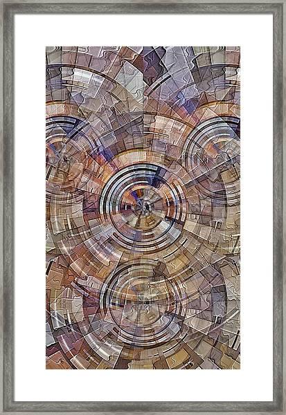Test Pattern Framed Print