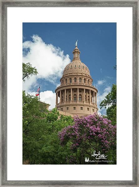 Texas Capital Building Framed Print