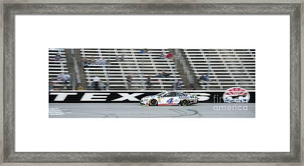 Texas Motor Speedway Framed Print