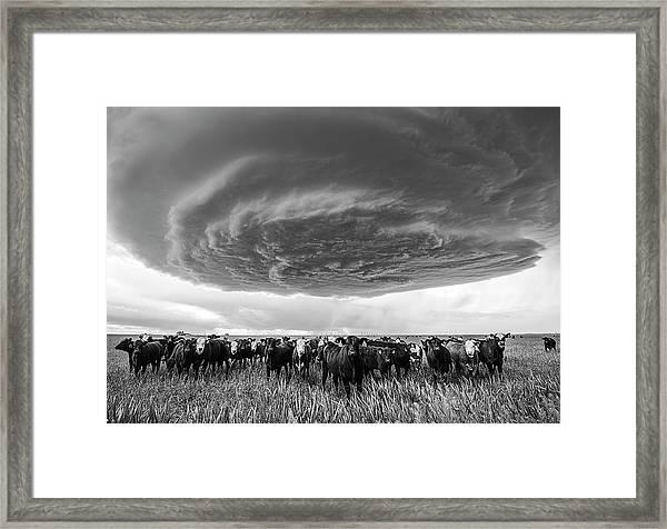 Texas Panhandle Meso Framed Print
