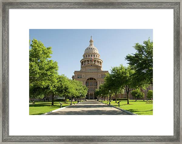 Texas State Capitol Framed Print