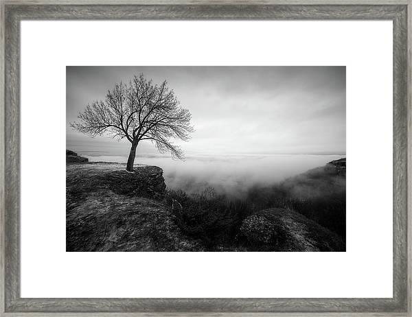 Thacher Scenic Overlook Framed Print