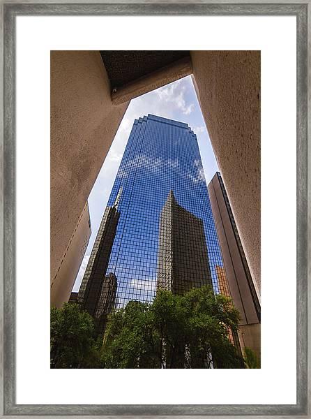 Thanksgiving Tower Framed Print