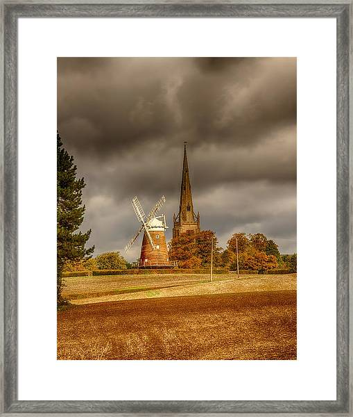 Framed Print featuring the photograph Thaxted Village by Chris Cousins