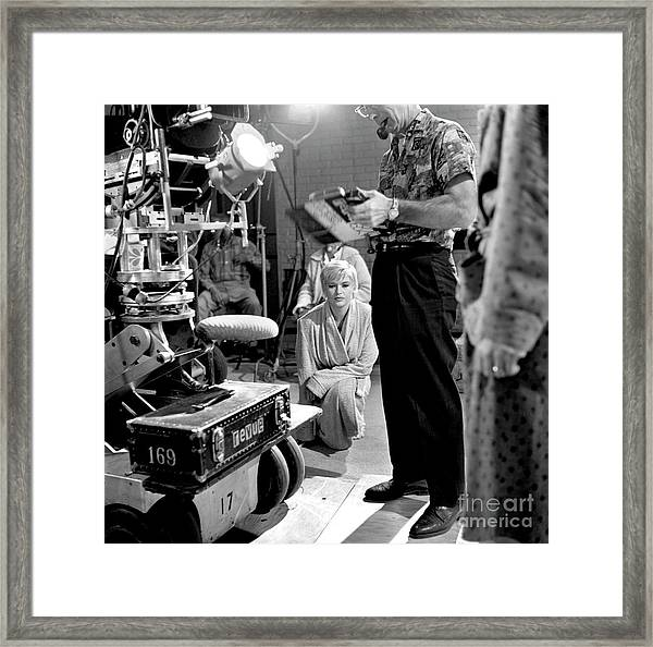 The Alfred Hitchcock Hour Framed Print by Cbs Photo Archive