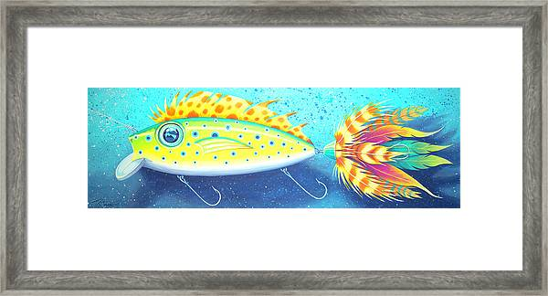 The Alluring Lure Framed Print