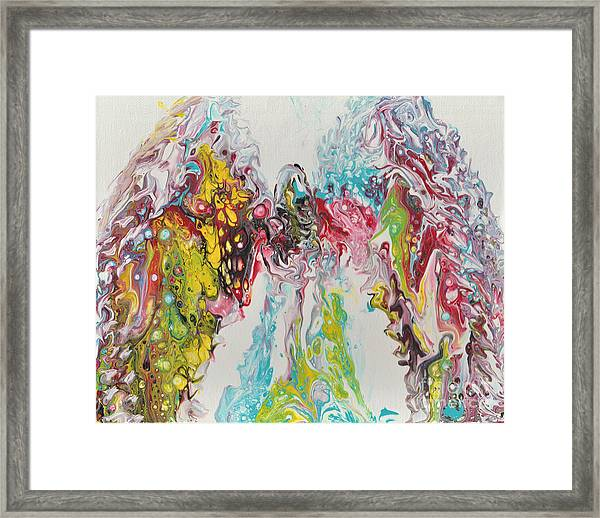 The Angel In Us All Framed Print