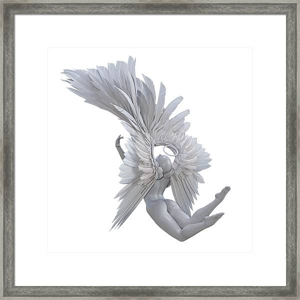 The Angelic Gift Framed Print