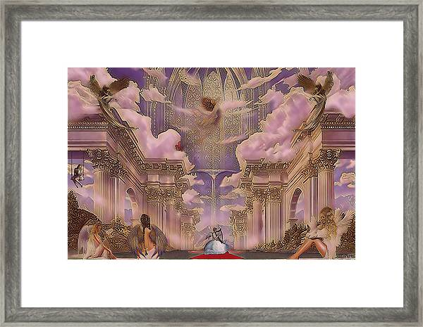 The Angels Palace Framed Print