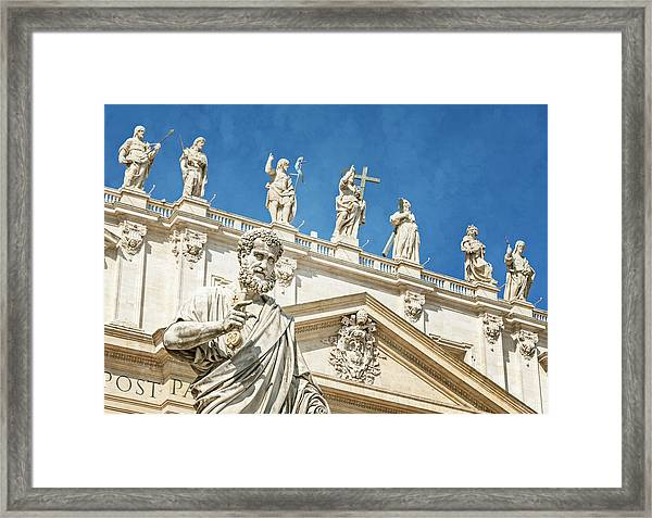 The Apostle Peter Vatican City Framed Print