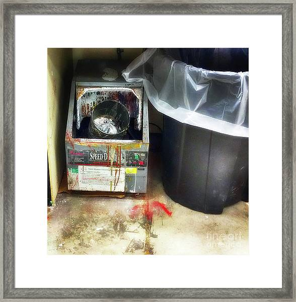 The Art Of Deagglomeration Framed Print by Steven Digman