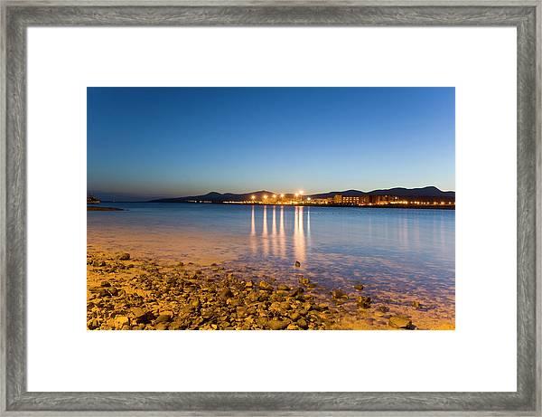 The Beach Of Playa De El Castillo Framed Print by Maremagnum