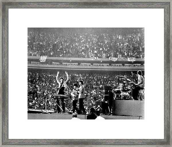 The Beatles Framed Print by Michael Ochs Archives