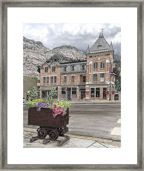 The Beaumont Hotel Framed Print