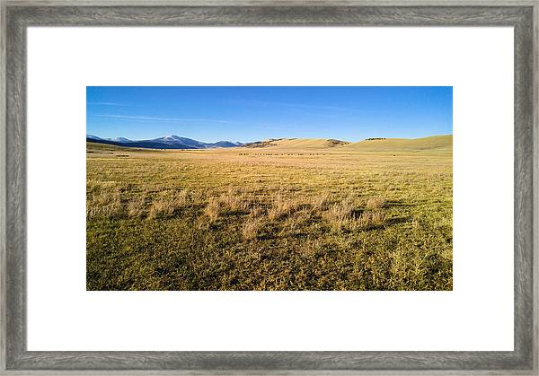 The Beautiful Valley Framed Print