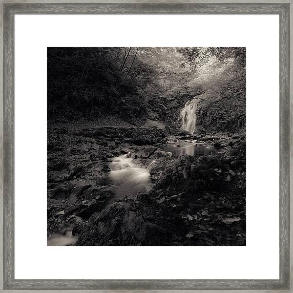 The Beauty Of Gleno Framed Print