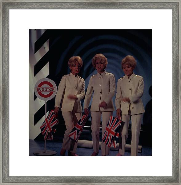 The Beverley Sisters Framed Print