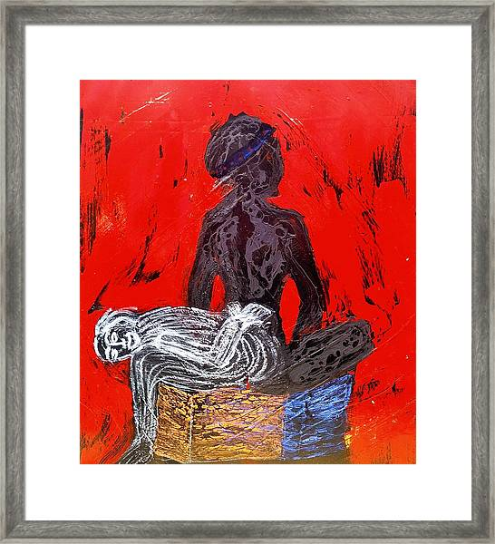 The Blood Hot Fantasy Framed Print