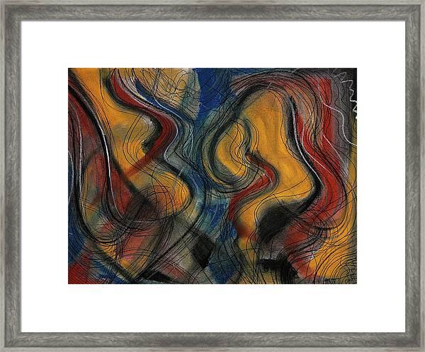 The Bow Framed Print