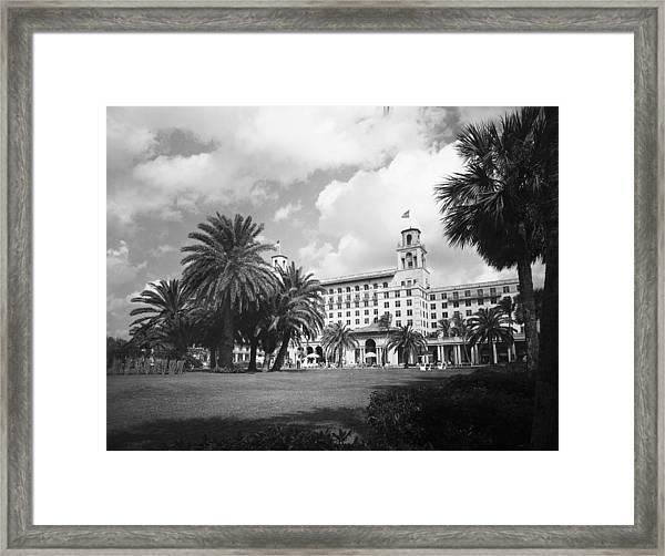 The Breakers Hotel, Palm Beach Framed Print