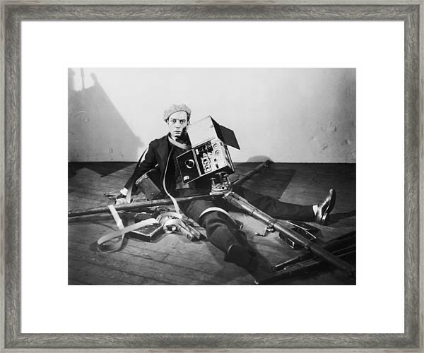 The Cameraman Framed Print