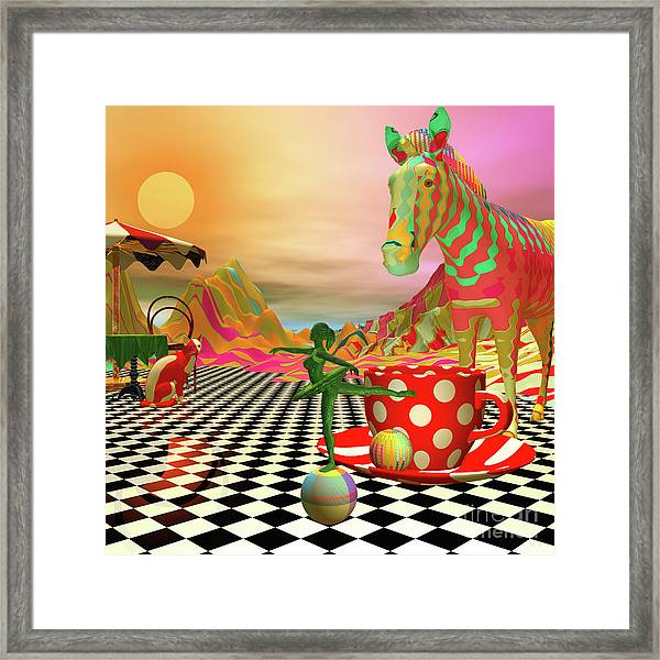 The Candy Store Framed Print