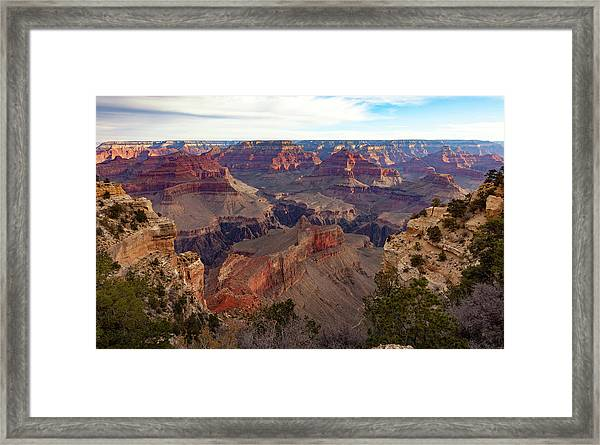 The Canyon Awakens Framed Print