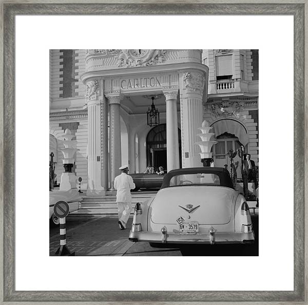 The Carlton Hotel Framed Print by Slim Aarons
