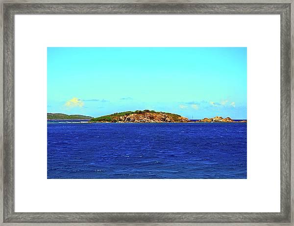 The Cay Framed Print