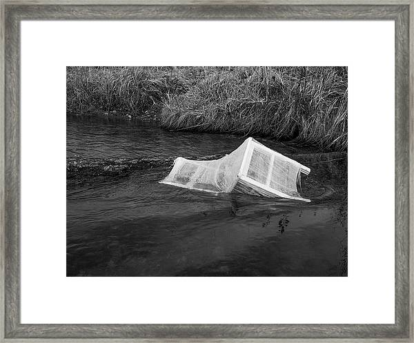 Away / The Chair Project  Framed Print