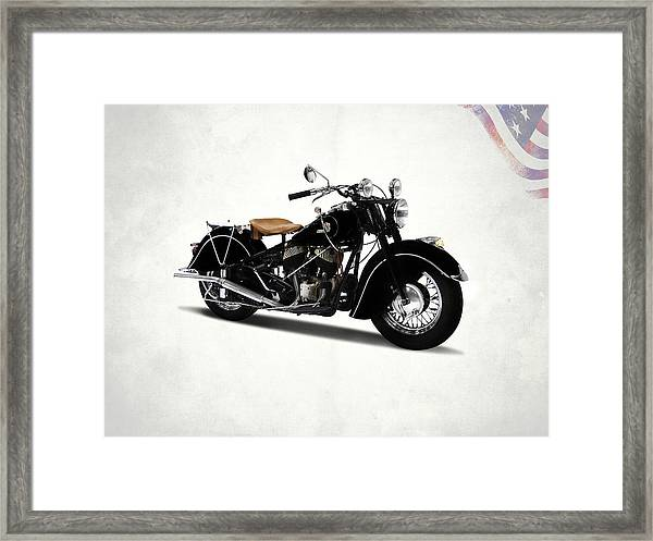 The Chief 1946 Framed Print