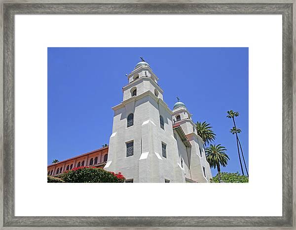 The Church Of The Good Shepherd - Church Of The Stars Framed Print