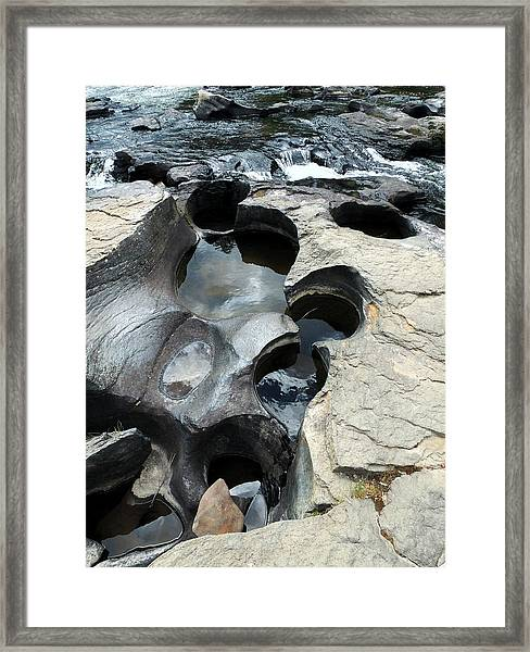 The Chutes Framed Print