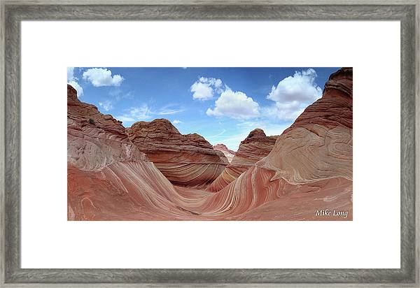 The Classic Wave Framed Print