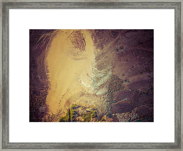 Framed Print featuring the photograph The Colours Of Longreef by Chris Cousins