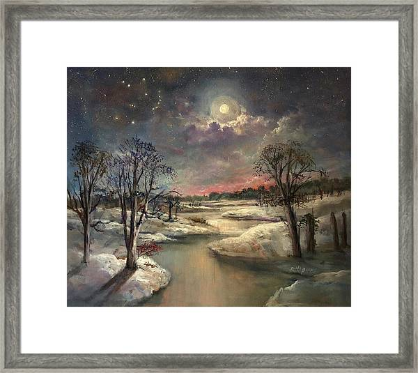 The Constellation Orion Framed Print