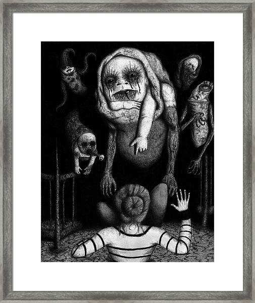 The Corrupted - Artwork Framed Print