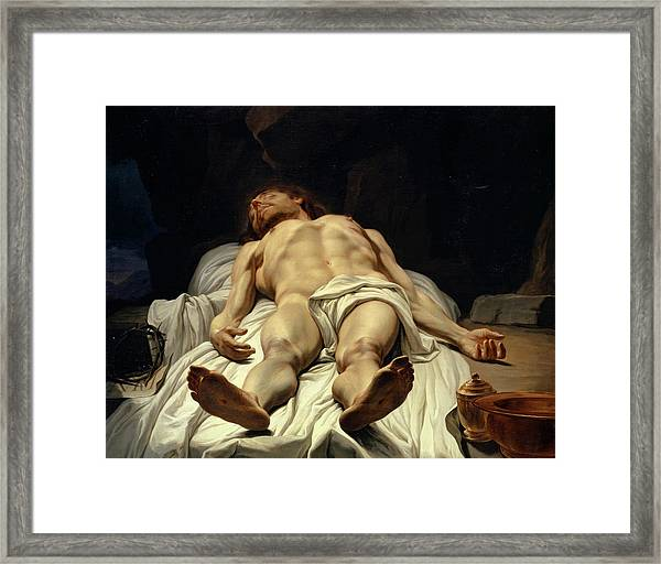 The Dead Body Of Christ, 1779 Framed Print