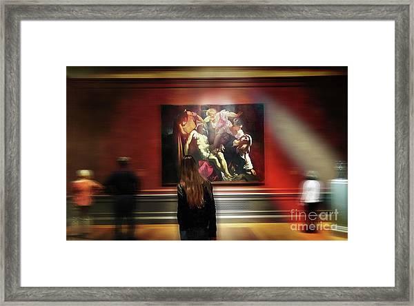 The Deposition Of Christ Framed Print by Steven Digman