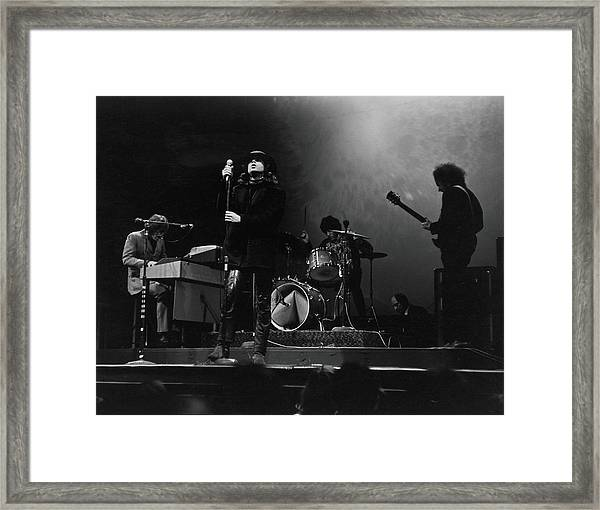 The Doors At The Filmore East Framed Print