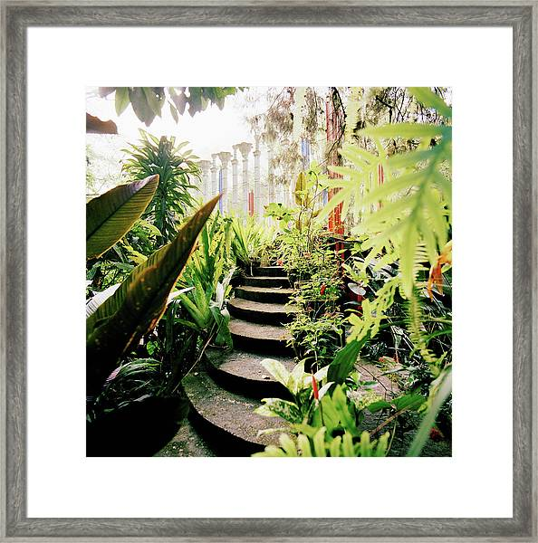 The Edward James Surrealist Gardens At Framed Print