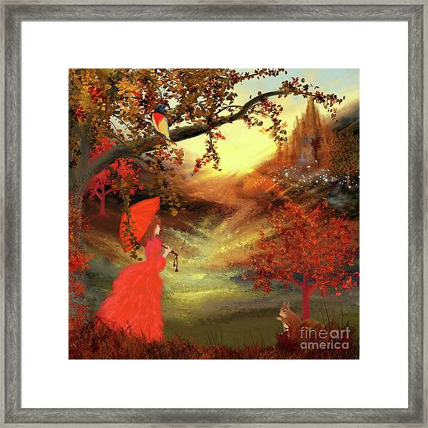 The Enchanted Valley Framed Print