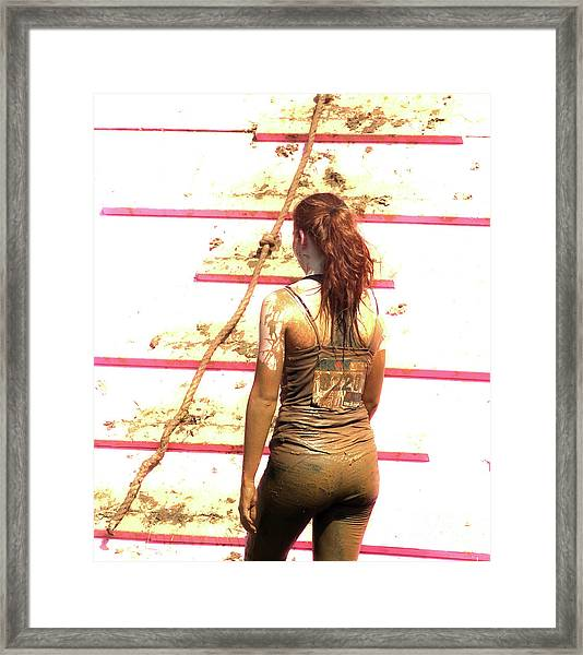 The Endurance Of Beauty  Framed Print by Steven Digman