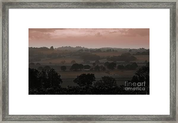 The English Landscape Framed Print