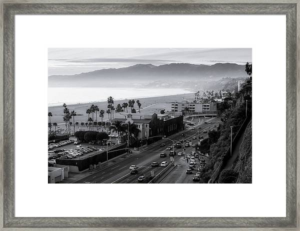 The Evening Drive Home Framed Print