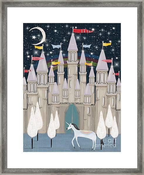 The Fairy Princess Castle Framed Print