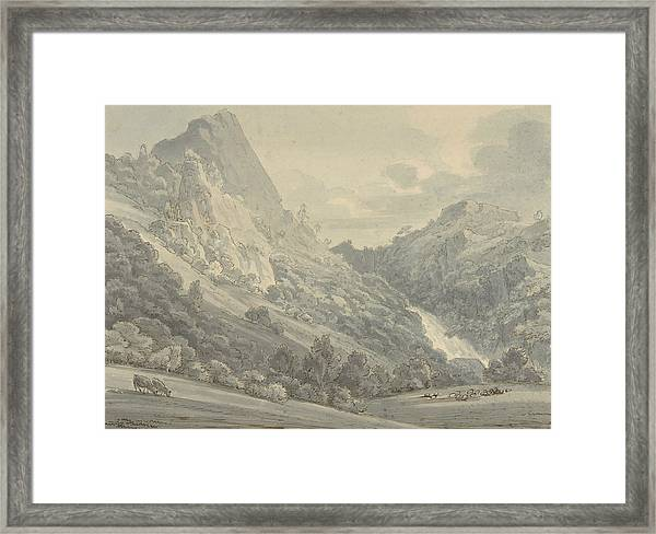 The Falls Of Lodore Framed Print