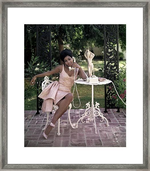 The Fancy Telephone Framed Print