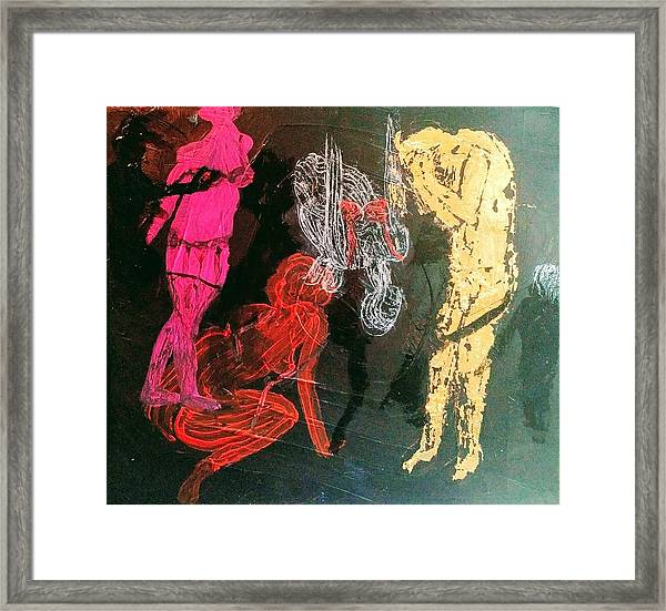 The Fates Are Emerging Framed Print